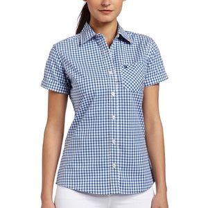 Carhartt gingham Button up women's shirt
